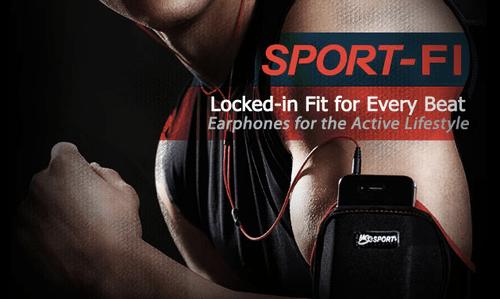 Sport-Fi Sport Earphones