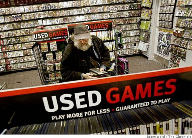 gamestop used games