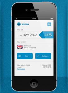 hideman iphone app