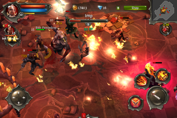 Dungeon Hunter 4 for iPhone