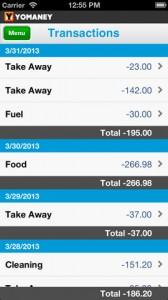Yomaney iPhone App