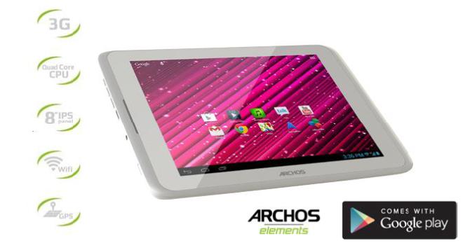 archos 80 xenon tablet