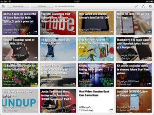 Erudito News Reader iPad App