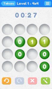Takuzu iPhone Game