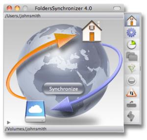 FoldersSynchronizer 4 Mac App