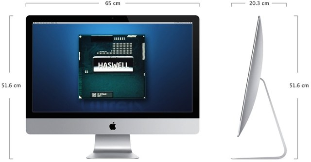 Intel's newest desktop chips are cooler, more efficient and offer much improved integrated graphics performance — enter the Haswell iMac…