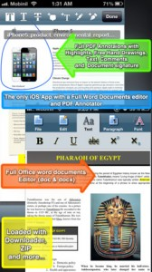 iDocs iPhone App