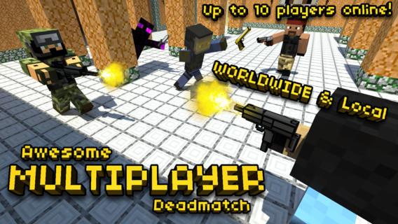 Pixel Gun D IPhone Game Review Killer Battles Awesome Skins - Minecraft shooter spiele