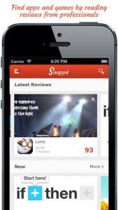 Snappn iPhone App