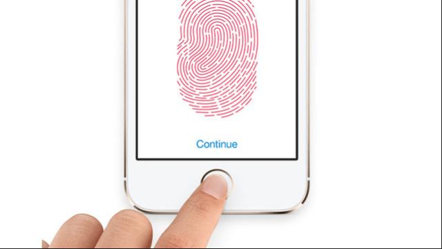 iPad Mini 2 Touch ID screen