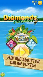 Diamonds Paradise iPhone Game