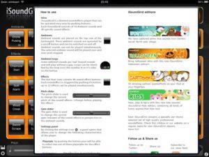 iSoundGrid Halloween for iPad App