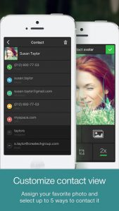 One Touch Dial iPhone App