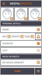 MixPal.fm iPhone App