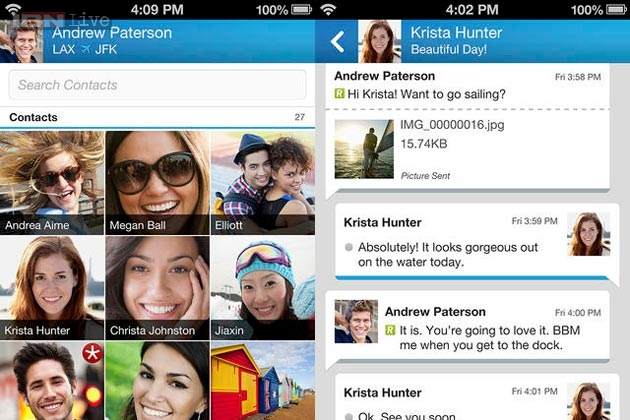 BBM For Android Updated With Voice Chat