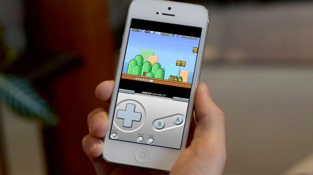 Nostalgic iPhone Gameboy