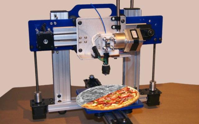 3d Printer Pizza