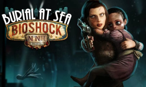 "Bioshock Infinite DLC ""Burial at Sea"" Artwork"