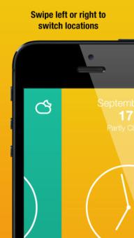 Rainly iPhone Weather App Review