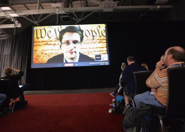 Snowden Says NSA