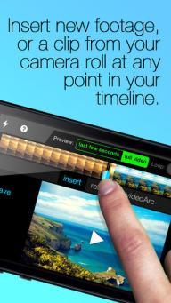 iphone video camera application
