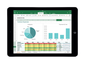 Microsoft Updates Office For iPad, Adds Printing Capability