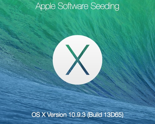 Yes, after three months of testing, Apple pushed out a fresh Mavericks Update, OS X 10.9.3, which brings bugs fixes, network tweaks and 4K display support