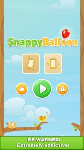Snappy Balloon iPhone Game