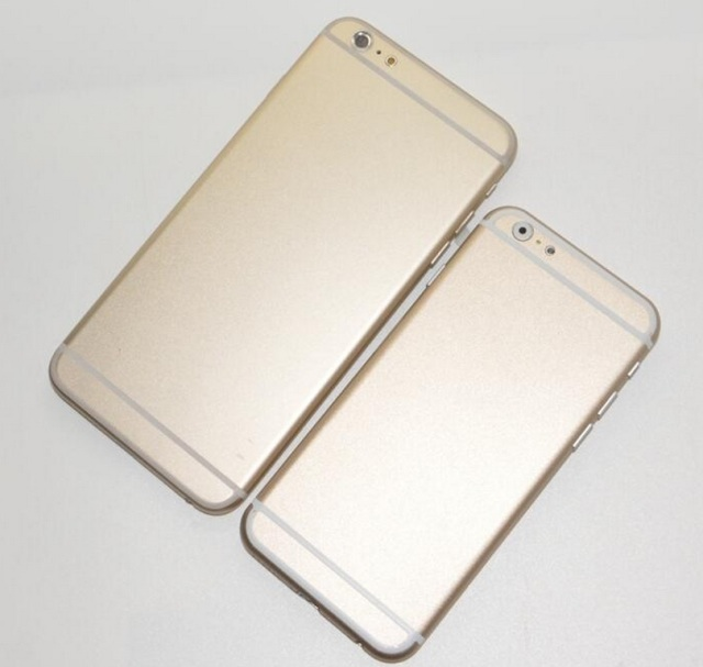 Apple's 2014 smartphones aren't due until September orOctober, yet there are fresh iPhone 6 pics confirm two configs, as well as other tasty details.
