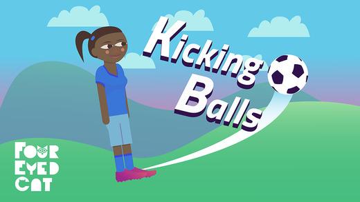 Kicking Balls iPhone Game