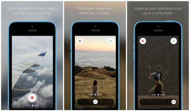 Hyperlapse is runner up for iPhone apps
