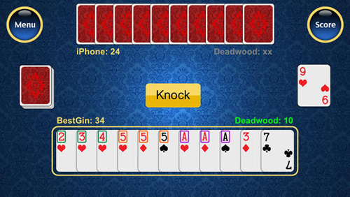 Best Gin Rummy Screen 2