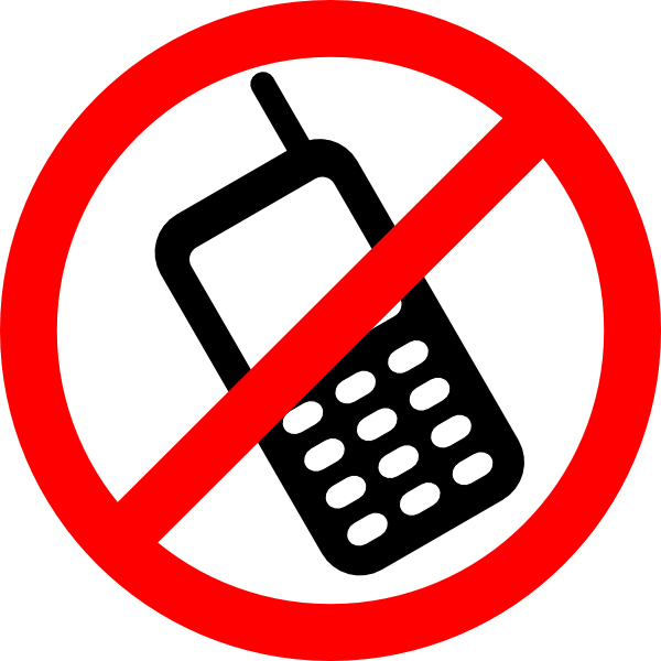 No Cell Phone Allowed