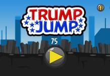 Trump Jump iPhone game