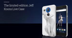 Android: Act Now and Get a Limited Edition Jeff Koons Live Case For Nexus