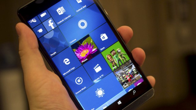 Microsoft Windows 10 Mobile Phone, HP Elite x3