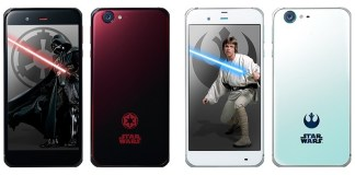 SoftBank, the Japanese carrier releases Star Wars themed phones
