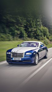 Blue Rolls Royce Car Wallpapers for iPhone 7 in HD