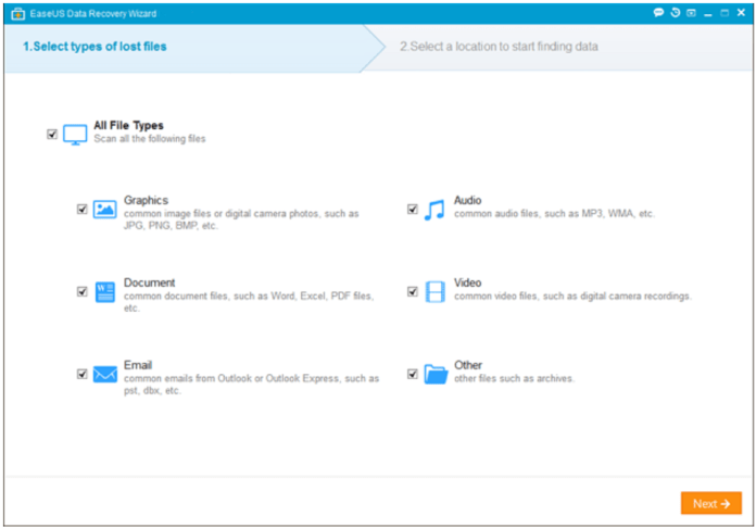 EaseUS Data Recovery Wizard Review 1