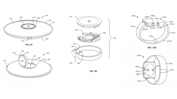 Leaked image of Apple's Patent on wireless charger