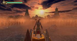 Screenshot of LoA - Legend of Abhimanyu being played