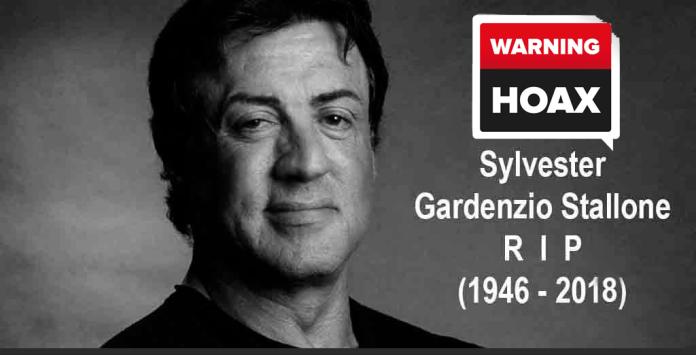 Sylvester Stallone Dead