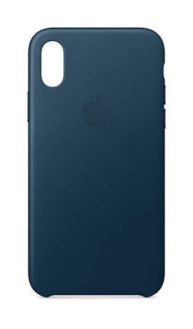 iPhone X Leather Case by Apple