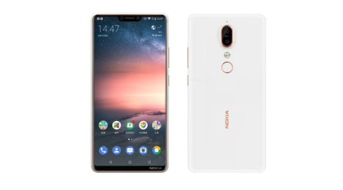 Leaked picture of the Nokia X6