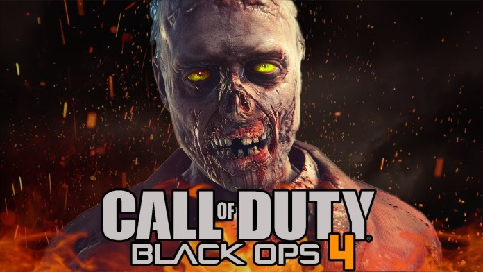 An image of a Zombie in the Call of Duty Black Ops 4 game.