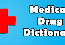 Drugs Dictionary App