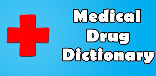 Drugs Dictionary App