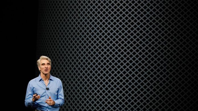 Craig Federighi talking about Siri improvements