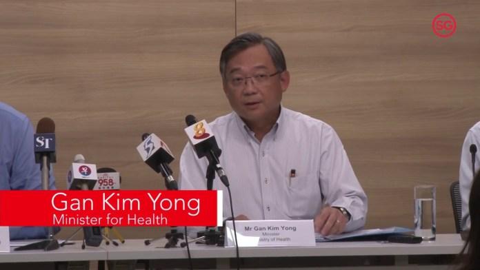 Gan Kim Yon - Minister of health