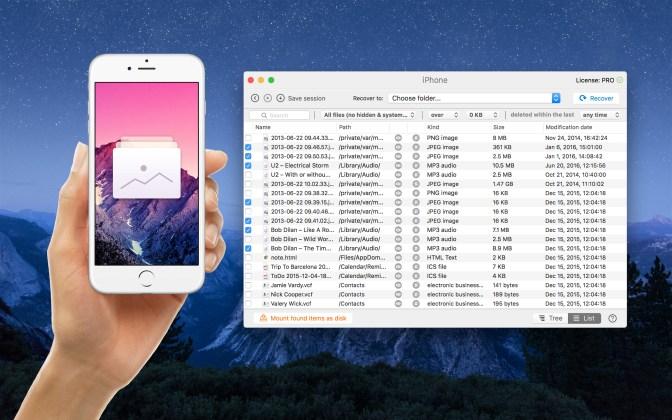 Disk Drill Mac iPhone